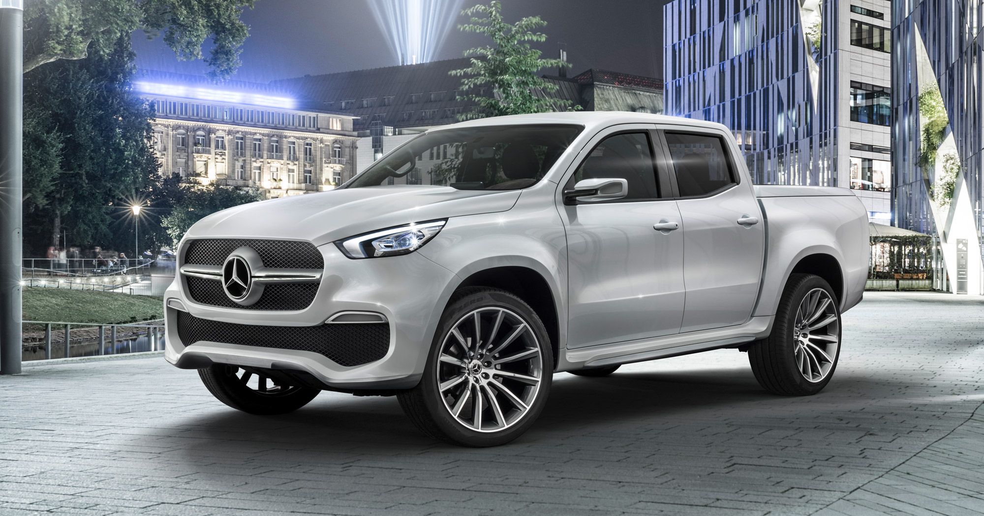 Mercedes Concept X-Class officiell – drömbilen under älgjakten